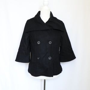 Old Navy Women's Wool Blend Double Breasted Jacket